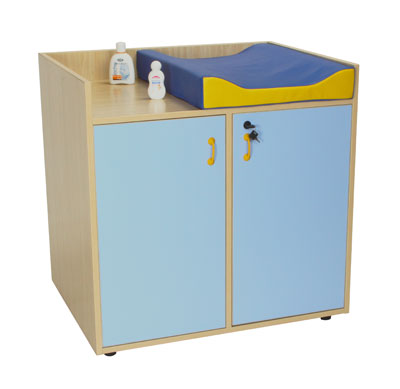 Muebles de ba o para guarderias mueble cambiador for Mueble cambiador para bebe