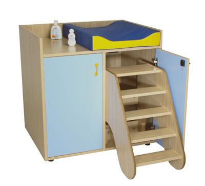 Muebles de Baño para Guarderias - Mueble Cambiador