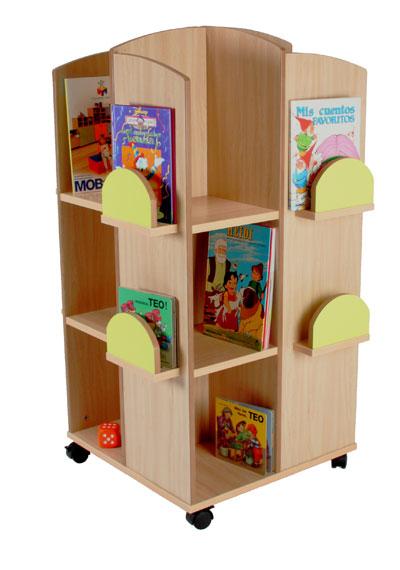 Mobiliario para bibliotecas escolares  Amueblar biblioteca infantil