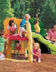 Juguetes exterior infantiles - escalada en la jungla