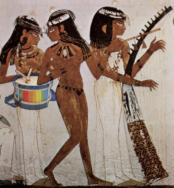 En el antiguo Egipto equipatuguarderia también estuvo presente