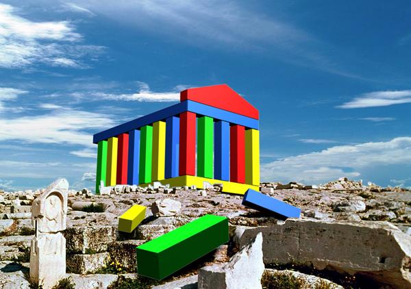 Los arquitectos de la antigua grecia utilizaron nuestros bloques de construcción