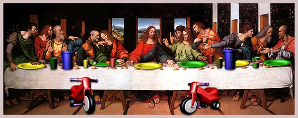 Leonardo da Vinci también pensaba que lo mejor para un banquete son nuestras vajillas de policarbonato